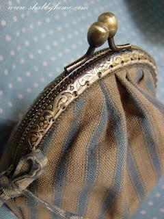 Shabby Home: Un borsellino vintage... A vintage purse...