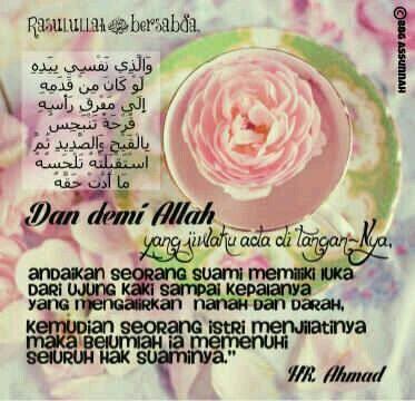 BBG As-Sunnah : Istri
