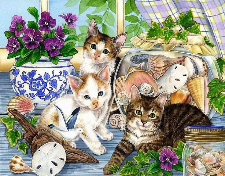 таком чудесные картинки с котами большие праздники