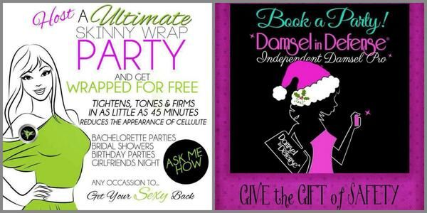 Host a wrap party or a damsel in defense party who for How to be a good party host