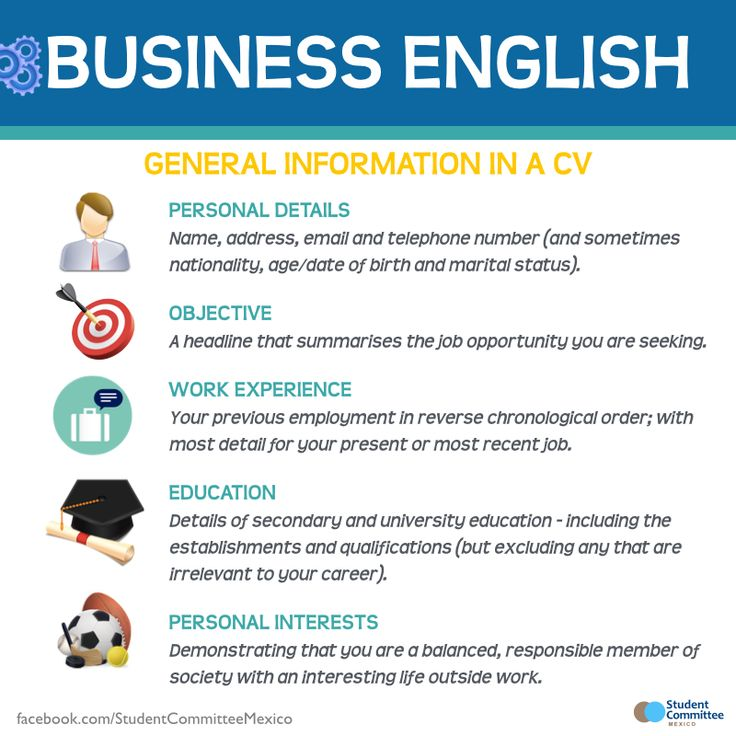 17 best ideas about cv in english on pinterest