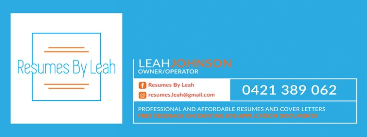 Resumes by Leah