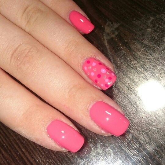 Cute as a button with polka dots design
