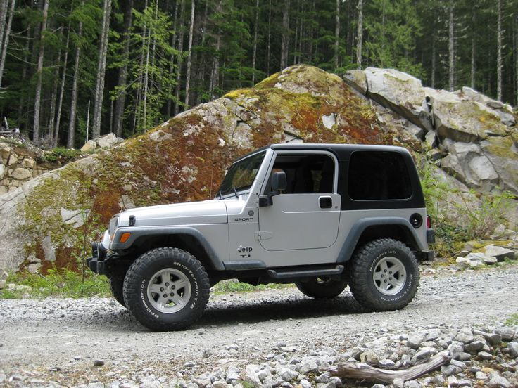jeep tj 32 inch tires Google Search in 2020 Jeep tj