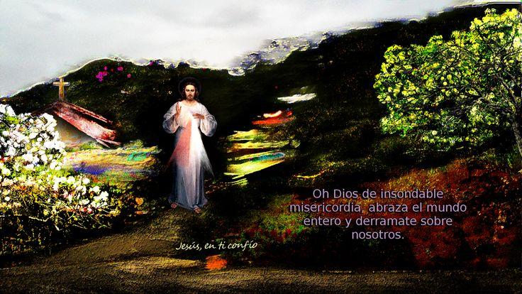 Divina Misericordia : oracion a jesus misericordioso