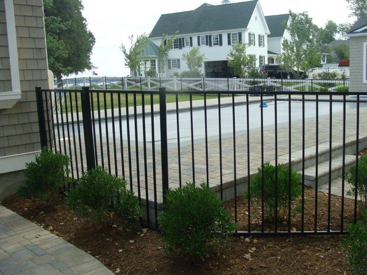 Best images about aluminum fencing on pinterest shops