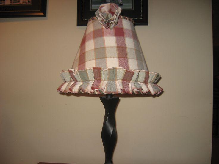 Ruffle Rosette Lampshade Westerville Ohio Ideaslampshadesohiolamp Shadescolumbus