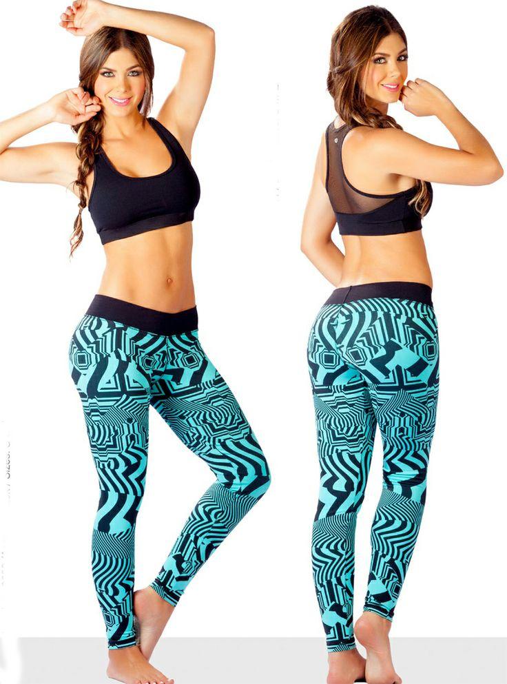 Protokolo Set: Leggings & Top P2650 | Protokolo | Yaninas Sportswear