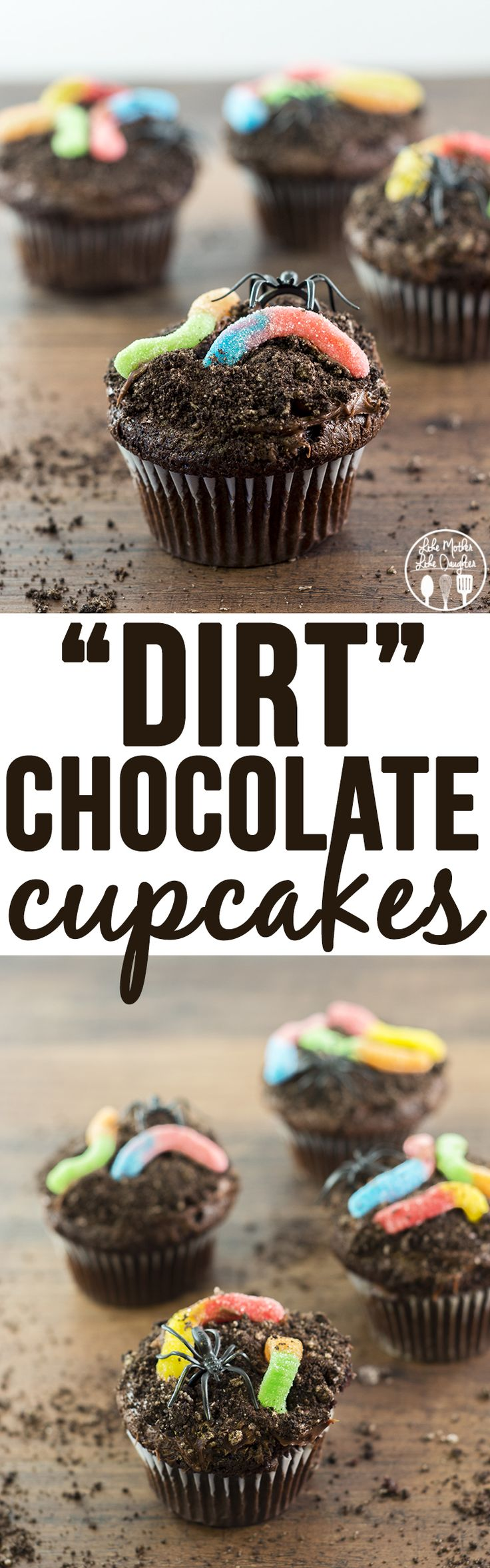 Things that look good to eat: Dirt Cupcakes - Like Mother Like Daughter