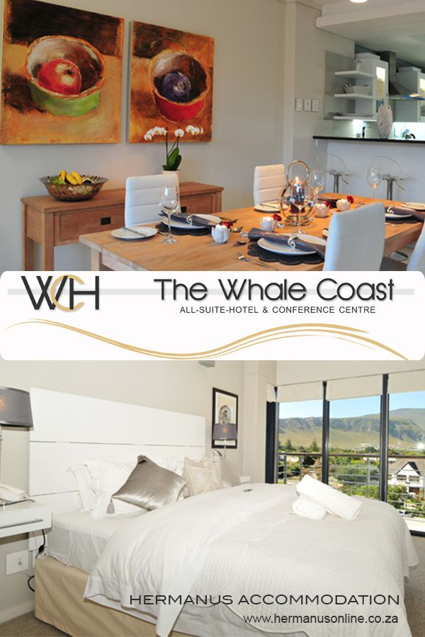 The Whale Coast Hotel offers elegant 4 star accommodation to both leisure and corporate visitors in Hermanus, Western Cape.