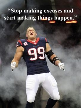 Sweet mother of God.  I would buy pizza all day every Tuesday if I lived in Houston.  I <3 J.J. Watt  *drool*