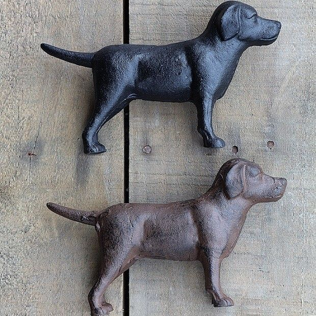 Cast Iron Dog Statues | Labrador Statues