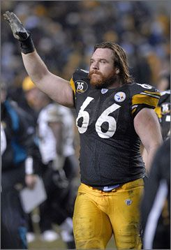 Alan Faneca - all time great Steeler OL