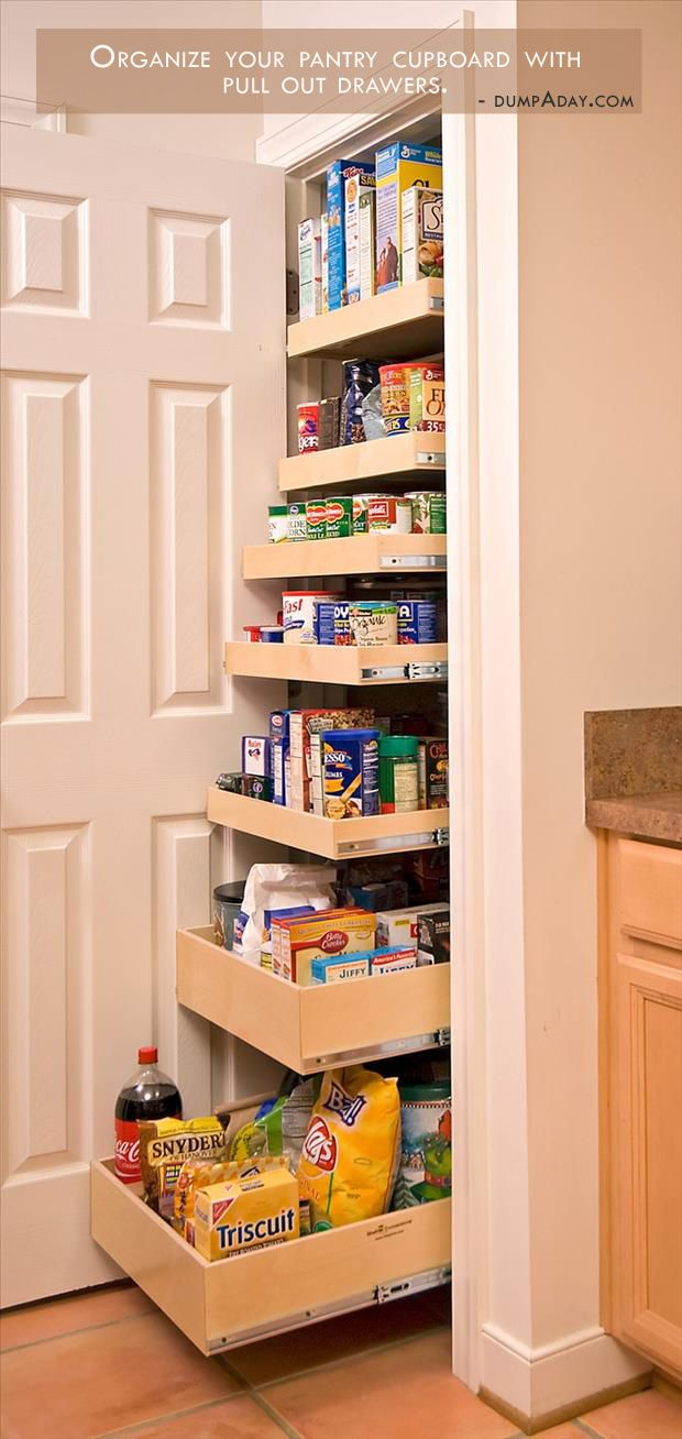 Pantry drawers renovate kitchens pinterest creative - Roll out shelving for pantry ...