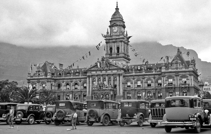 Cape Town City Hall 1934 (visit of Prince George)