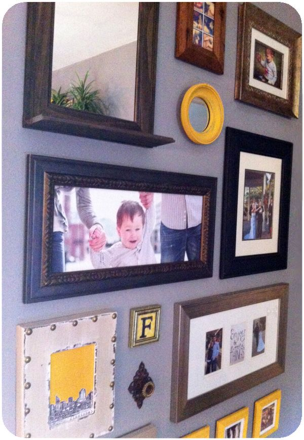 156 best DIY Frame It--Gallery and wall art ideas images on ...