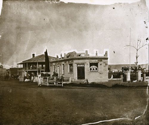 The Red Cow inn, Penrith, NSW 1880. by John Sharkey, The First Official Government Photographer 1869 - 1896 Australia