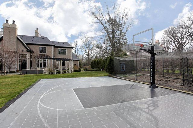 1000 ideas about backyard basketball court on pinterest indoor basketball court basketball. Black Bedroom Furniture Sets. Home Design Ideas
