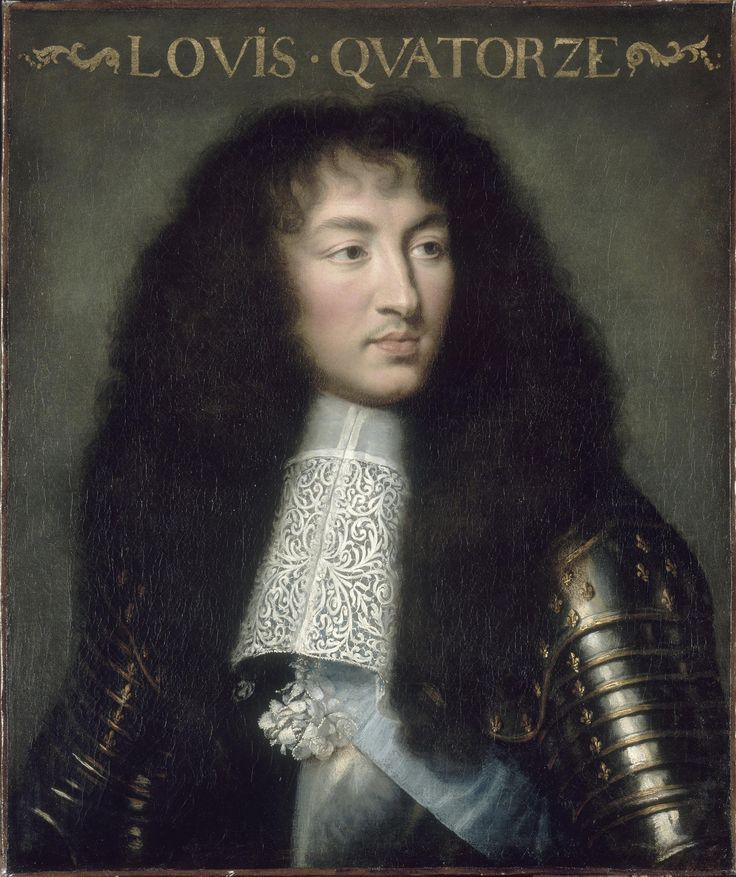 Louis XIV, roi de France et de Navarre (1638-1715) portrait en buste et en cuirasse, Charles Le Brun (1619-1690), vers 1662, Versailles, châteaux de Versailles et de Trianon © RMN (Château de Versailles) / Franck Raux