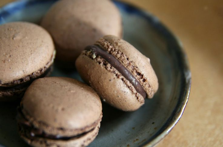 Chocolate Macarons Recipe   mostly foodstuffs