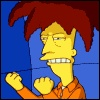 Sideshow Bob Fist Shake #gif - frustration, urge to kill, usually helps to groan a name