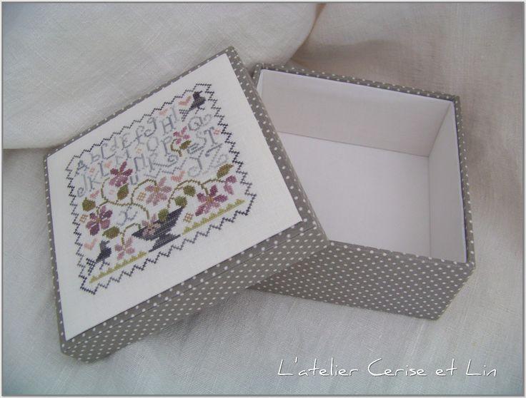 Boîte ABC Violettes Tralala