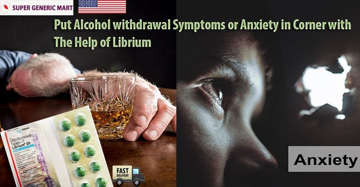 Offering Librium 25 mg for Sale Online, UK, USA at discounted rates for causing anxiety trouble or Alcohol Withdrawal. Gain advantage of our rapid shipping to get the medication delivered at your doorstep. $5 medicine free on E-check Payment. Order Now!