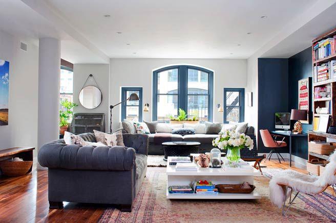 Leslie Fremar on Decorating Her New York City Loft - Leslie Fremar and Julianne Moore Interior Design Interview - ELLE
