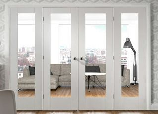 White Pattern 10 Room Divider #roomdividers