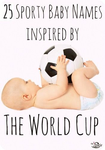 Check out this timely list of baby names for boys and girls inspired by your favorite soccer (well, or football/futbol) players!