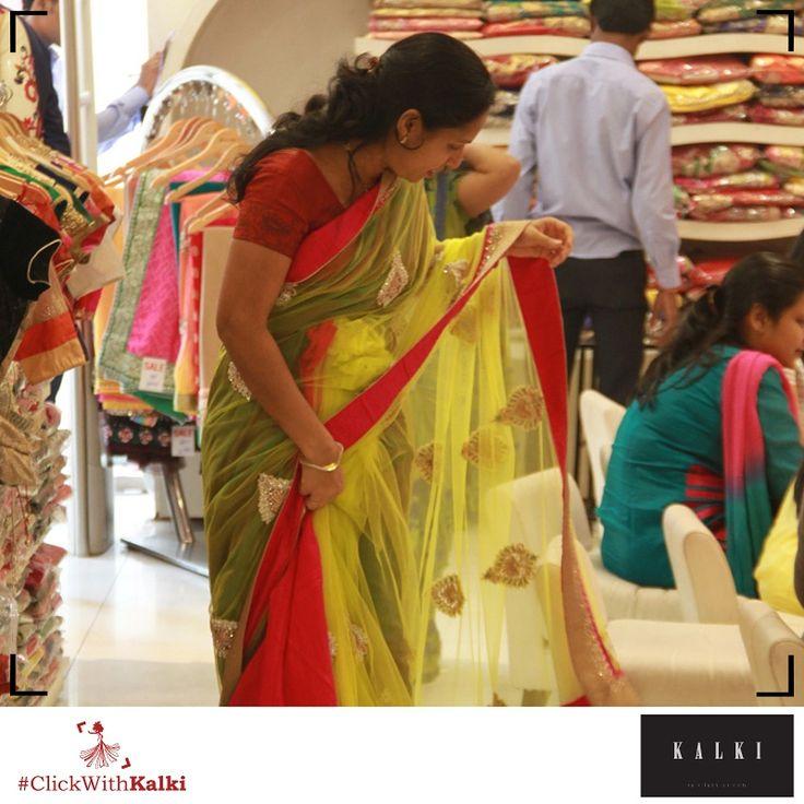 #ClickWithKalki #sale #Sarees #Fabulous #fashion #desi #dressy #win #wedding #ethnic
