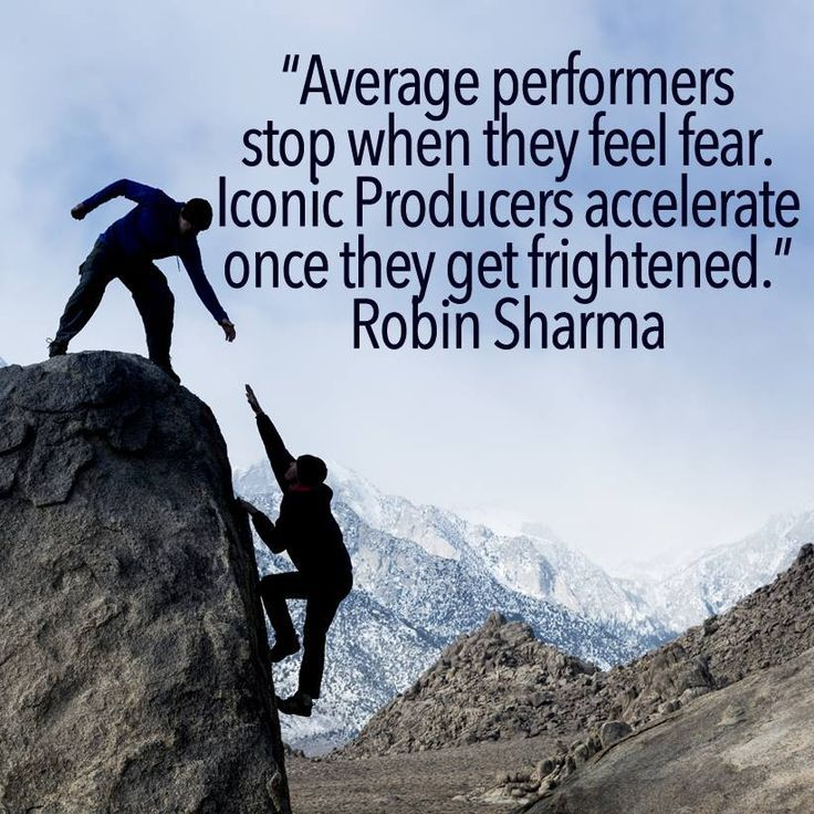 Inspirational Quotes About Fear: 25+ Best Quotes On Fear On Pinterest