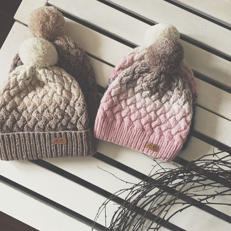 Knitted hats Svetlana Selivanova