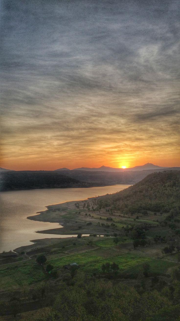 Sahyadri Dam, Pune, India.