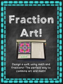 This fun fraction project is a great way to practice adding and subtracting fractions and finding equivalent fractions. Beginning students can use larger fraction denominators, while more advanced students can stretch themselves with a multitude of equivalent fractions.
