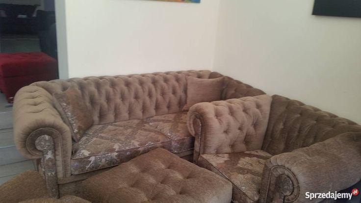 Chesterfield luksusowe kanapy Grudziądz