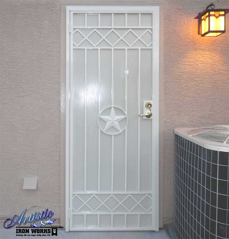 1000 images about wrought iron security doors on for Wrought iron security doors