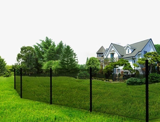 Backyard Poultry Supplies 177801: Non Rust, Light Weight Composite Poultry Chain Link Fence 6Ft Black -> BUY IT NOW ONLY: $42.79 on eBay!