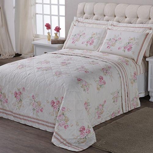 Olha só que lindo este kit colcha Casa Elegance Classic Pink! Aproveite para deixar sua casa linda. Confira preços e tamanhos disponíveis no site.