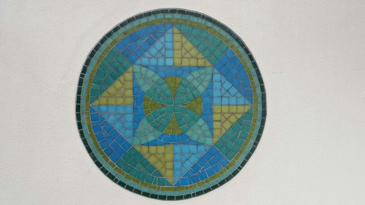 Mandala de venecitas. 45 cm
