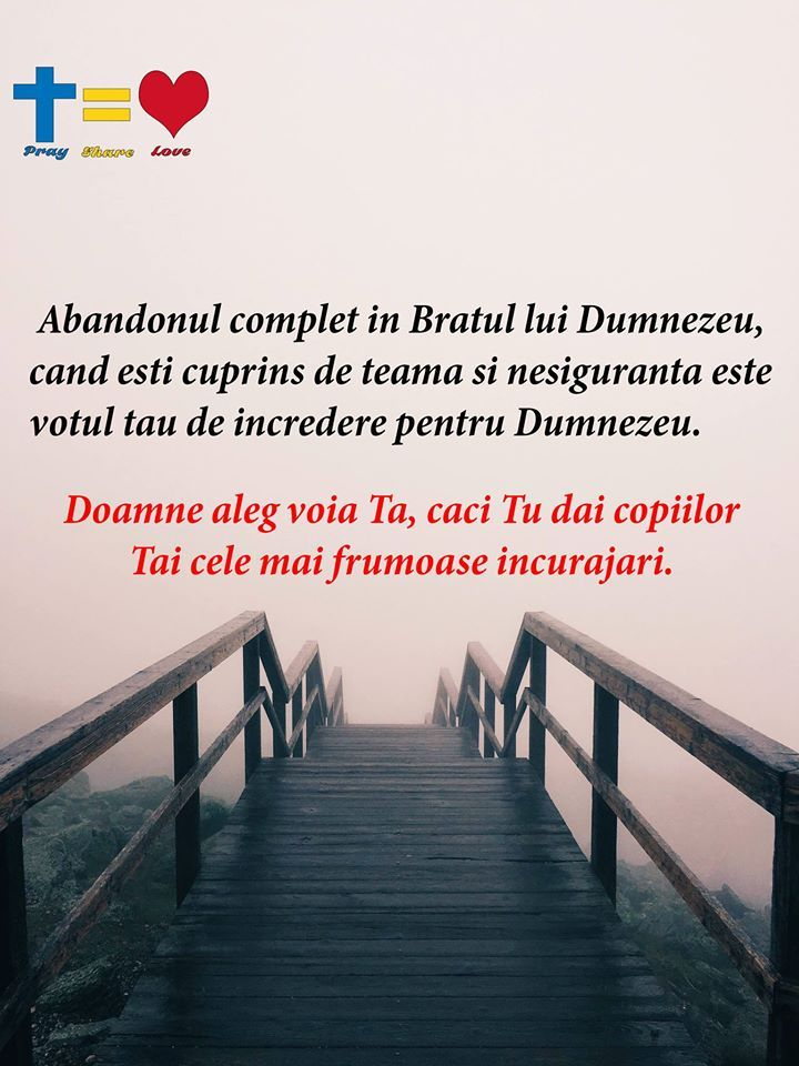 https://www.facebook.com/praysharelove/   Doamne alege voia Ta #Dumnezeu #dragoste #credinta