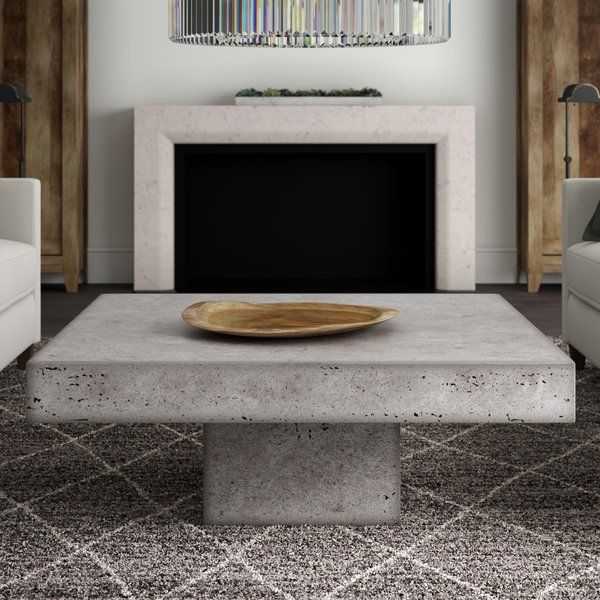 Crafted From Concrete In A Neutral Patina Finish This Understated