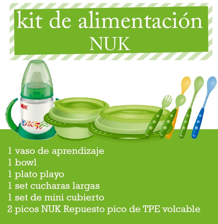 Kit de Alimentación Nuk