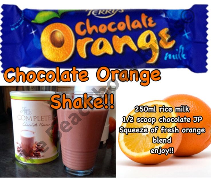 Chocolate Orange Shake