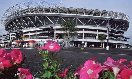 "Ibaraki Prefectural Kashima Soccer Stadium.  ""Urawa Reds and Gamba Osaka in the last J League title race for some time"" http://www.theguardian.com/football/blog/2014/nov/21/urawa-reds-gamba-osaka-j-league-title-race"