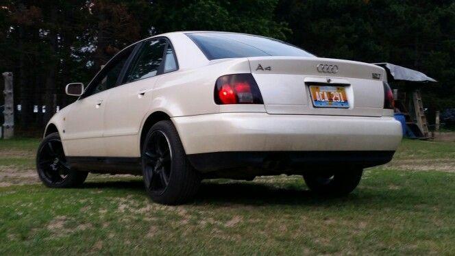 his Audi a4 1.8t Quattro.