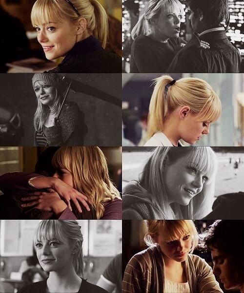 The Amazing Spider-Man, Gwen Stacy ): gonna miss her in amazing spiderman 3 and 4