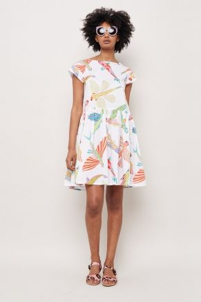 Fish May Fly Beach Dress $169