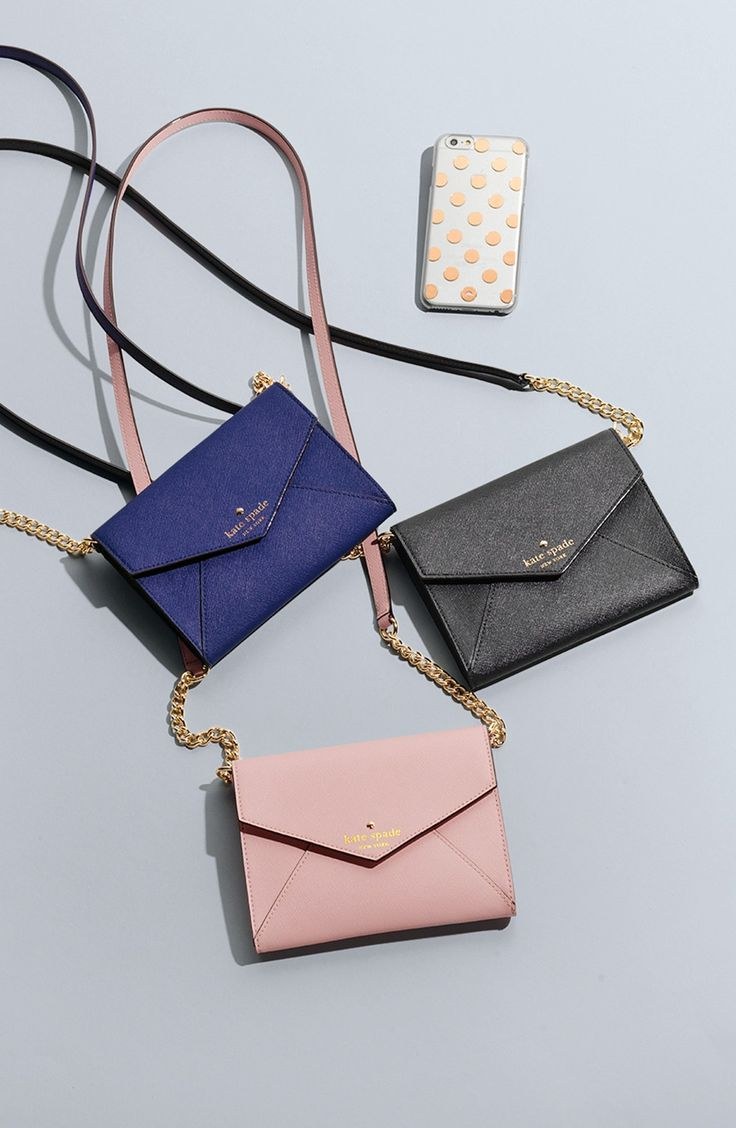 These Kate Spade crossbody bags are très chic.