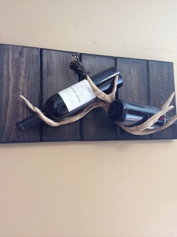 Antler Wine Rack /Antler  Liquor Rack ! What a brilliant idea!